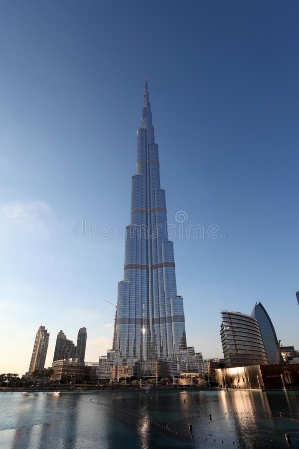 Burj Khalifa, Dubaj zdjęcie stock