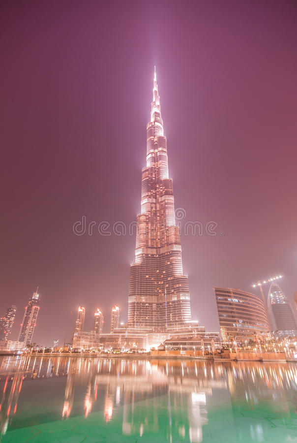 Download Burj Khalifa On June 7, 2010 In Dubai, UAE. Stock Photos - Image: 28695273