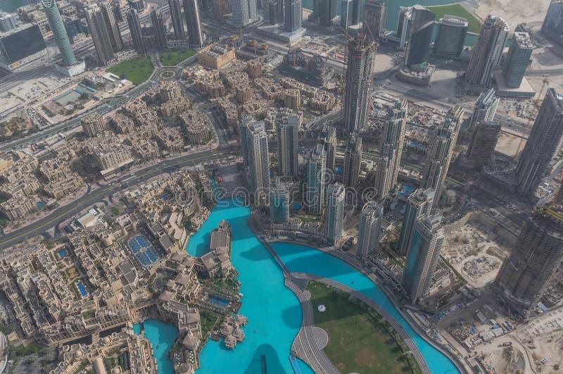 Burj Khalifa, la costruzione più alta nel mondo dubai fotografie stock libere da diritti