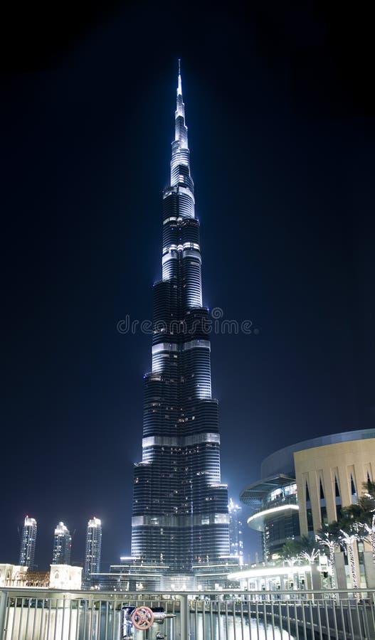 Burj Khalifa In Lights Editorial Image