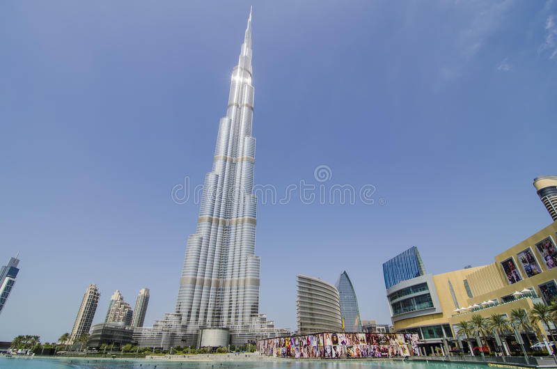 Download The burj khalifa editorial photography. Image of light - 34837542