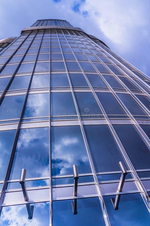 Burj Khalifa, point de repère principal de Dubaï photographie stock libre de droits