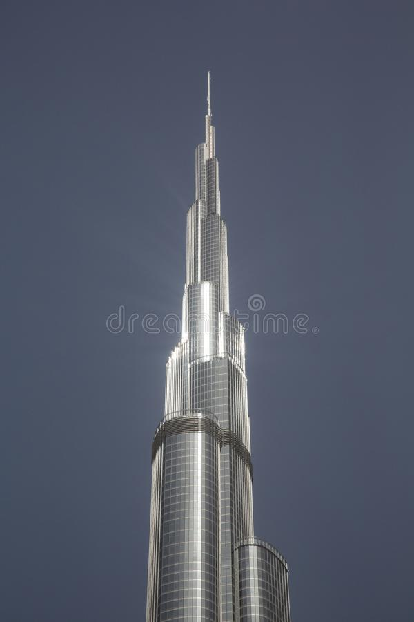 Burj Khalifa stockfotos