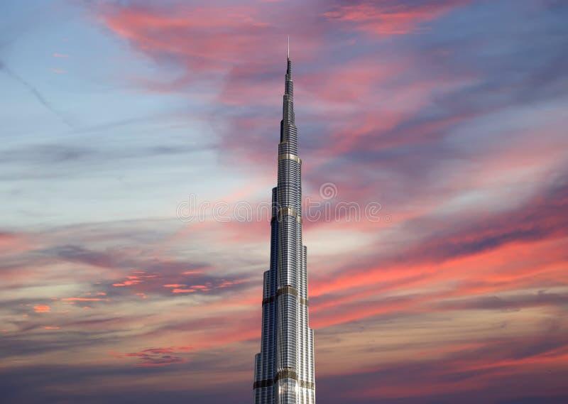 Burj Khalifa (tour de Khalifa), Dubaï photographie stock libre de droits