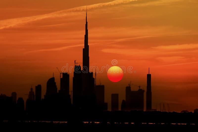 Burj Khalifa tower stock photo