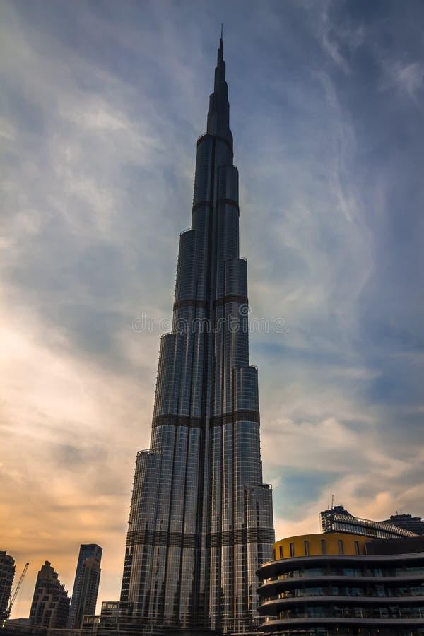 Burj Khalifa wierza zdjęcie stock