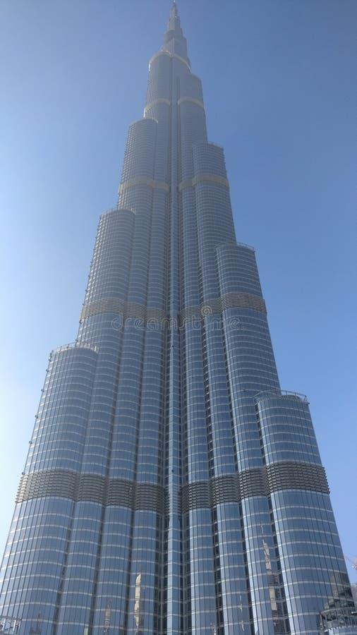 Burjh Khalifa Dubai stockbilder