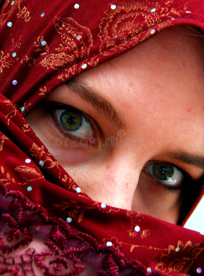 Burka royalty free stock photo