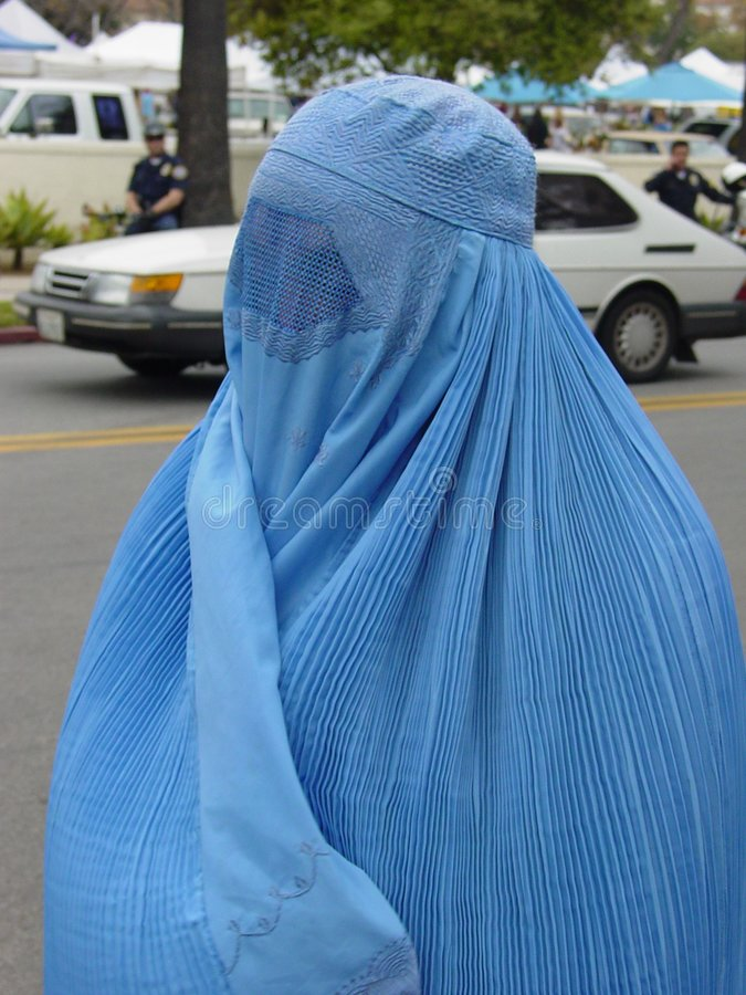 Burka royalty free stock image