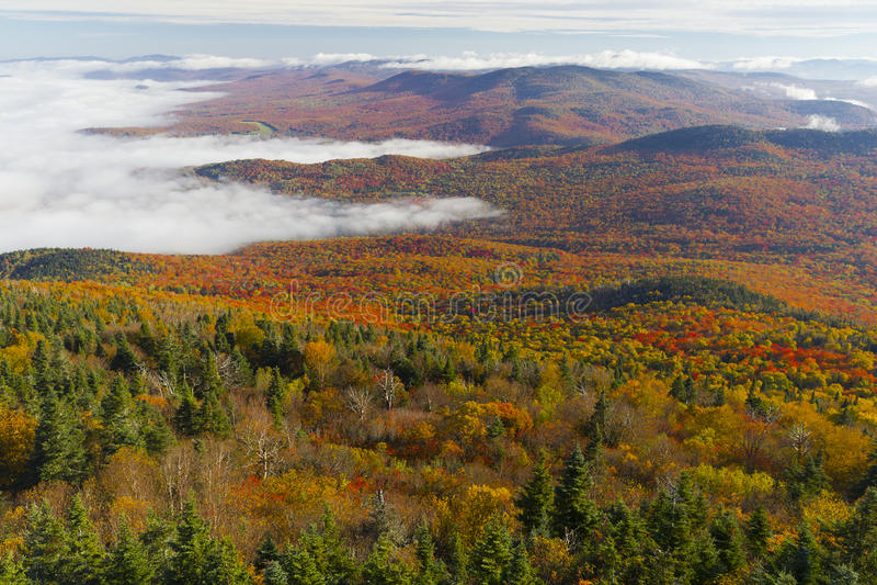 Burke Mountains stock image