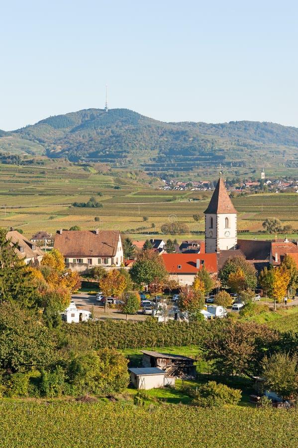 Burkheim, Kaiserstuhl 免版税库存照片