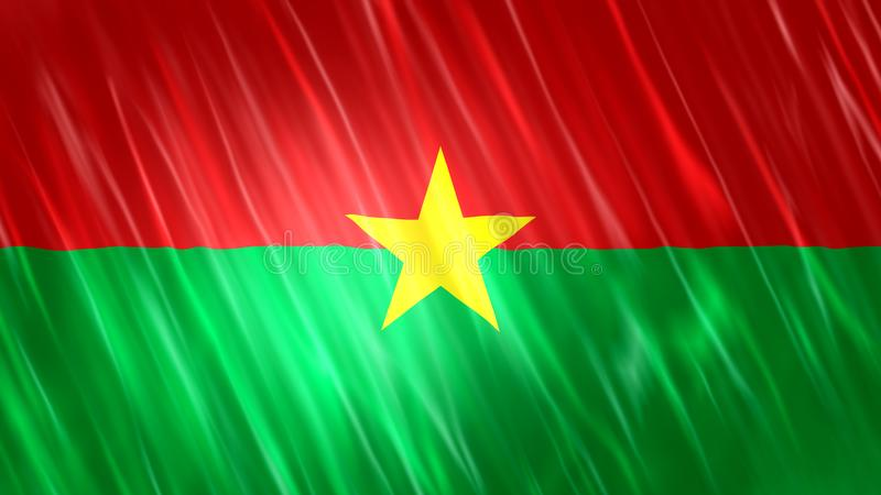 Burkina Faso Flag. For Print, Wallpaper Purposes, Size : 7680  x 4320 Pixels, 300 dpi, Jpg Format stock photography