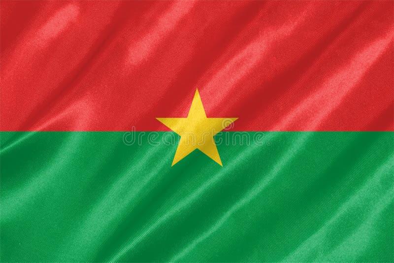 Burkina Faso Flag royalty free illustration