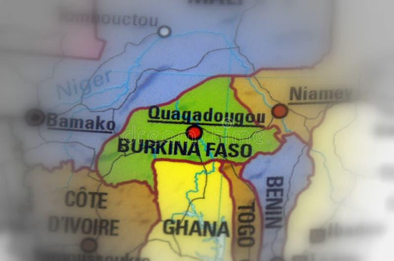 Burkina Faso, vroeger genoemd de Republiek van Hoger Volta stock afbeelding