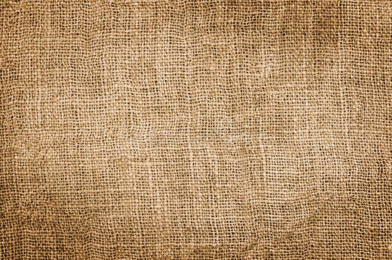 burlap ανασκόπησης τεχνών γραφική ποικιλία σύστασης σάκων τεμαχίων υφασμάτων στοκ εικόνα