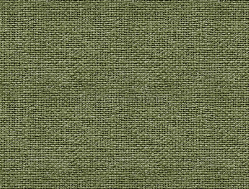 Burlap. Close-up of green burlap weave for background (texture stock photography