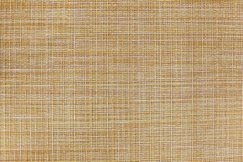 Burlap, abstrakcjonistyczna tła brązu tekstura obrazy stock