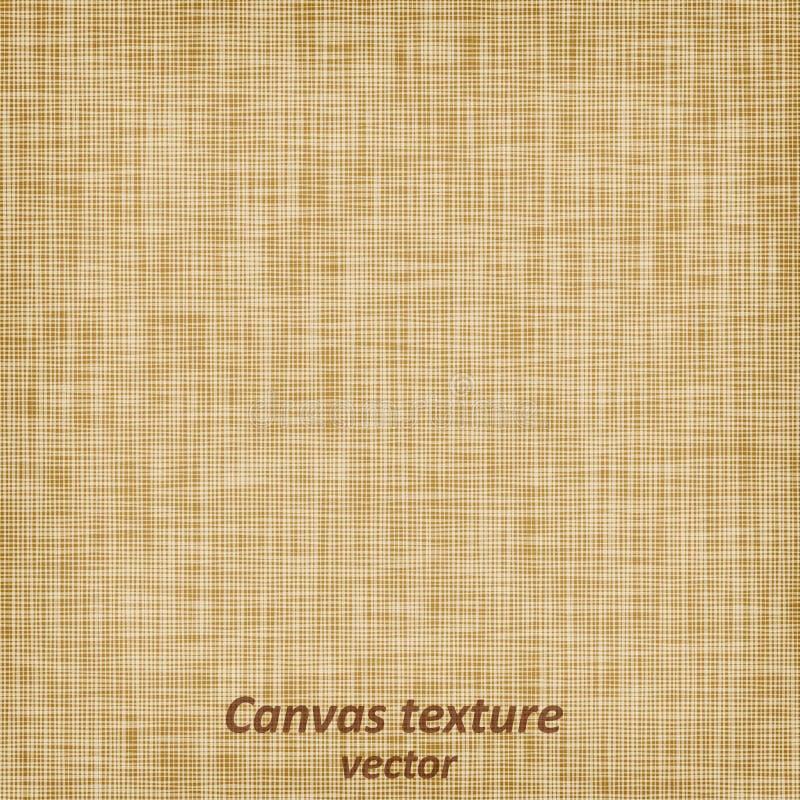 Burlap kanwy worka tkaniny lna brezentowego bieliźnianego scrim tekstylnego materiału tekstury sukienny tło ilustracji