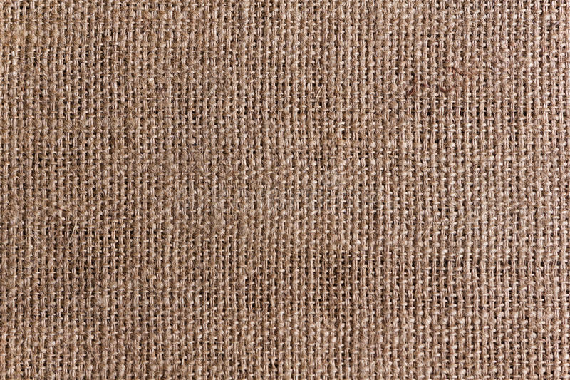 Burlap lub konopie workowa tekstura zdjęcia stock
