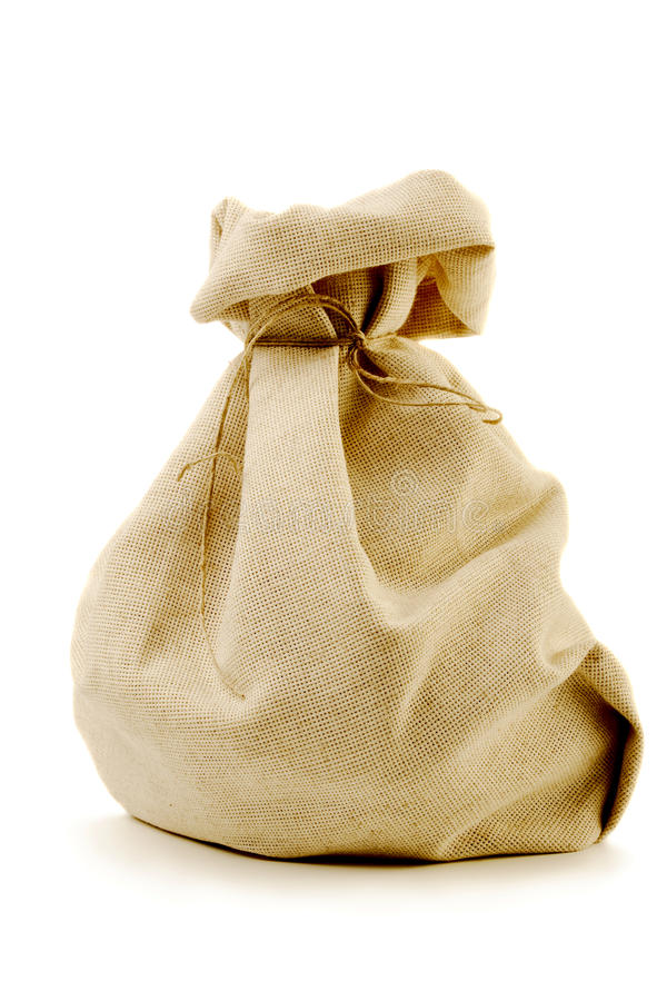 Burlap sack stock image. Image of rough, brown ...