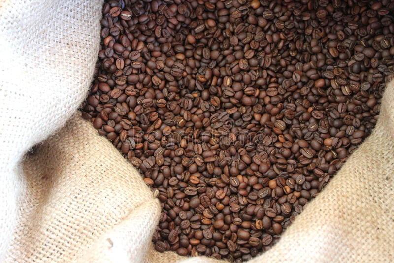 Download Burlap Sack And Coffee Beans Stock Photo - Image: 33717940