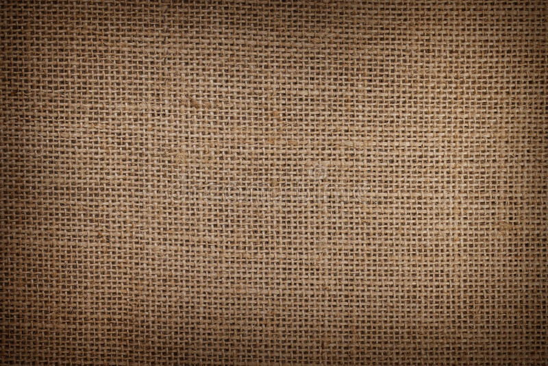 Burlap or sacking texture for the background royalty free stock images