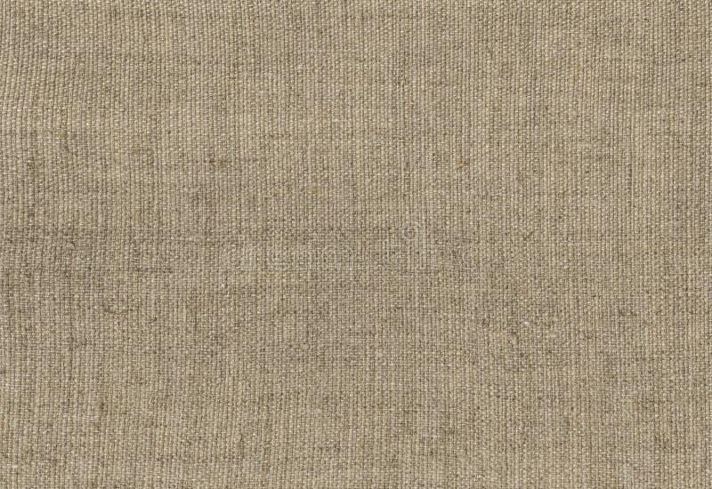Burlap, stary brezentowy tekstury tło Wysoka Rozdzielczość royalty ilustracja