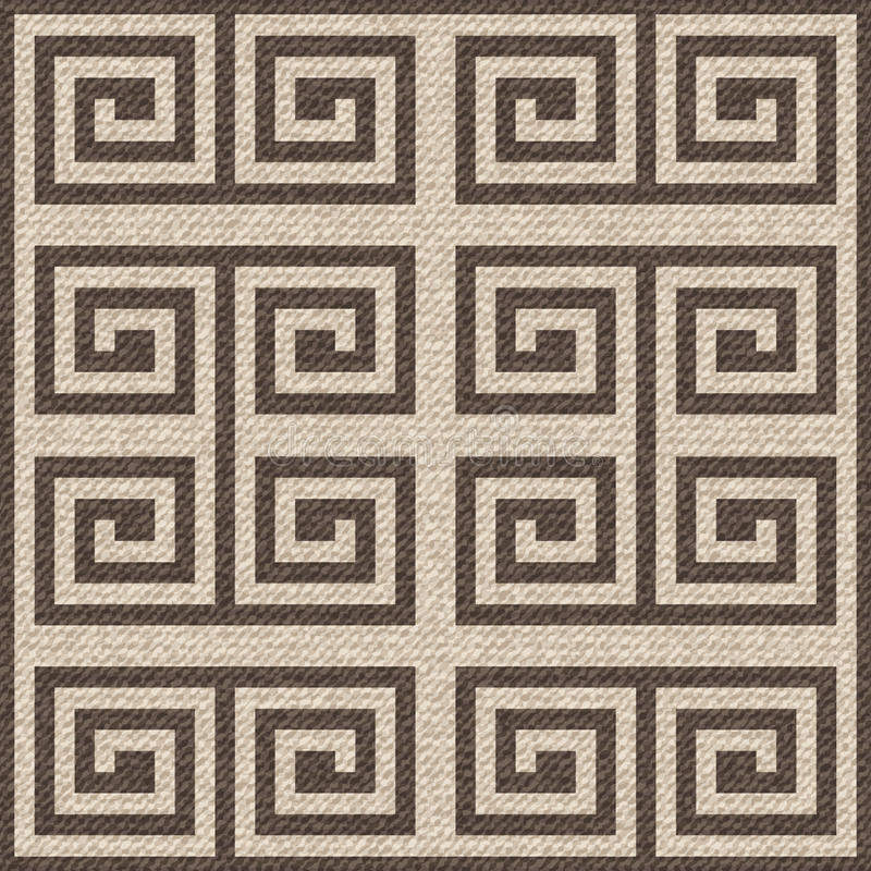 Burlap texture background. stock illustration