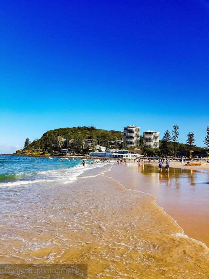 Burleigh heads stock photo