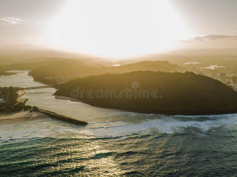 Burleigh Hill royalty free stock photography