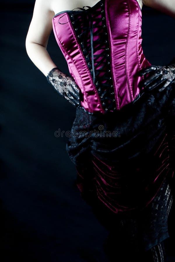 burlesk kvinna arkivfoton