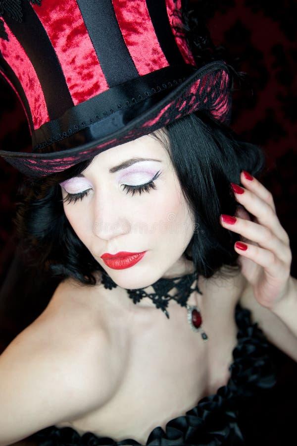 Burlesque Dancer Royalty Free Stock Photography