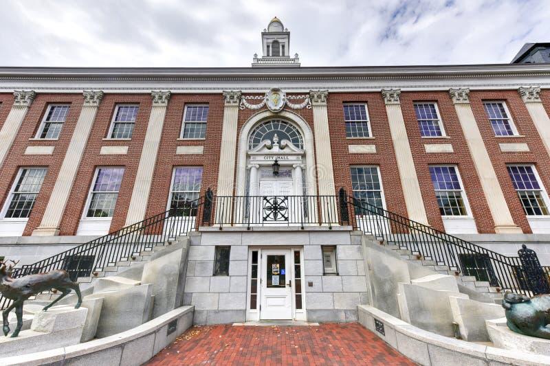Burling Vermont urząd miasta fotografia stock