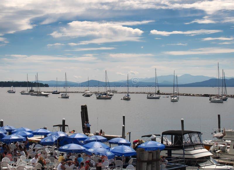 Burlington, Вермонт стоковое фото rf