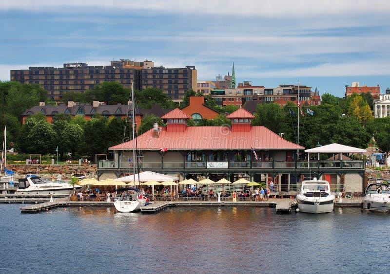 Burlington, Вермонт стоковая фотография rf