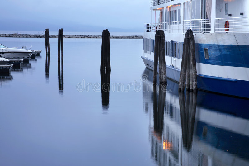 burlington vermont strand royaltyfri foto