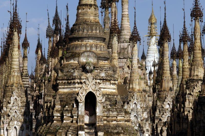 Download Burma / Indein pagodas stock image. Image of spiritual - 11158375