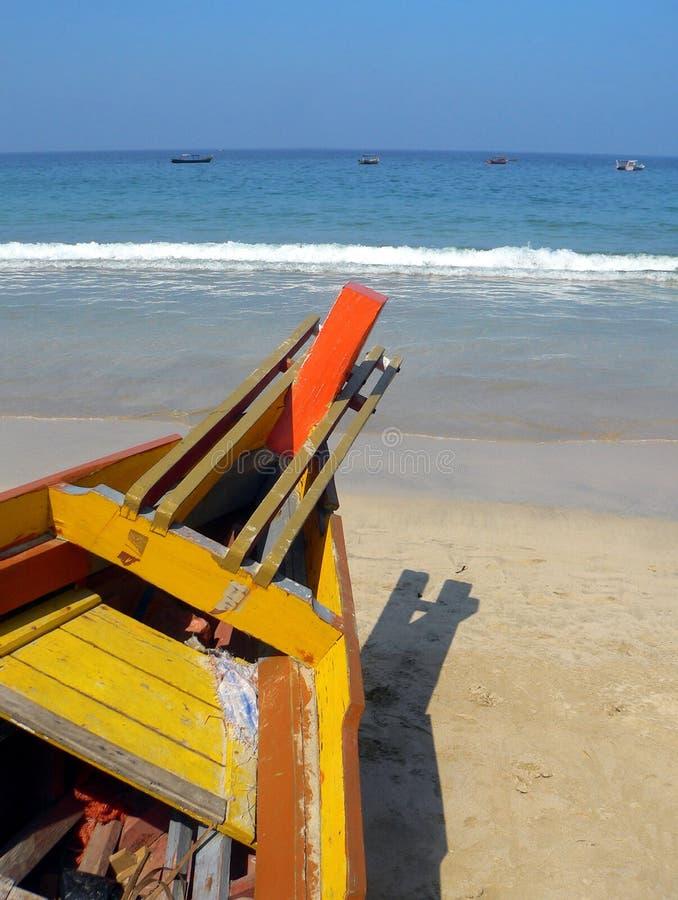 Burma. Ngapali Beach royalty free stock images