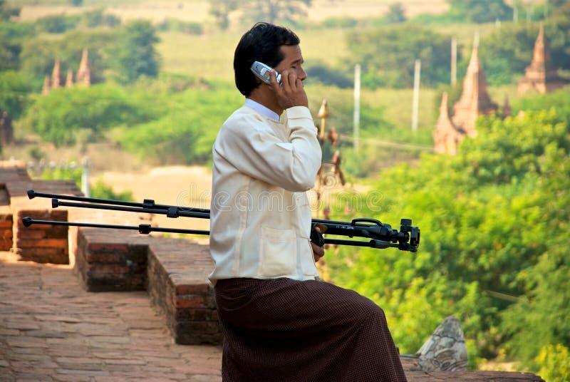 Burmese fotografía de archivo