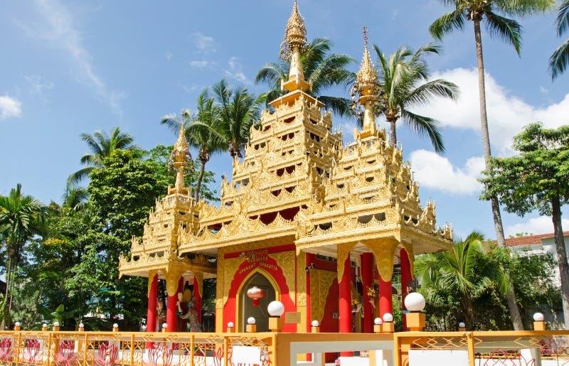 Burmese Buddhist Pagodas stock photos