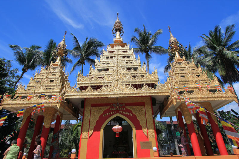 Landmark, hindu, temple, tourist, attraction, historic, site, chinese, architecture, place, of, worship, sky, tourism, leisure, re. Photo of temple, place, of royalty free stock image