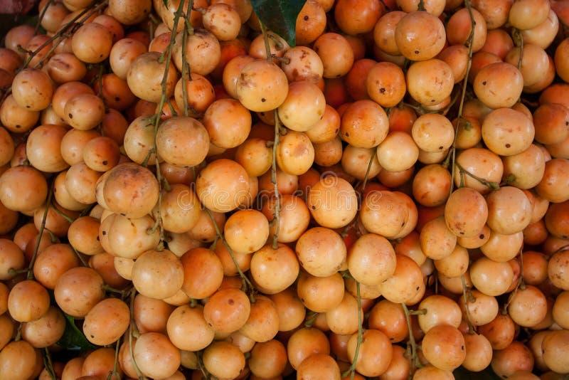 Burmese grape. Orange Bunch of Burmese grape royalty free stock photography