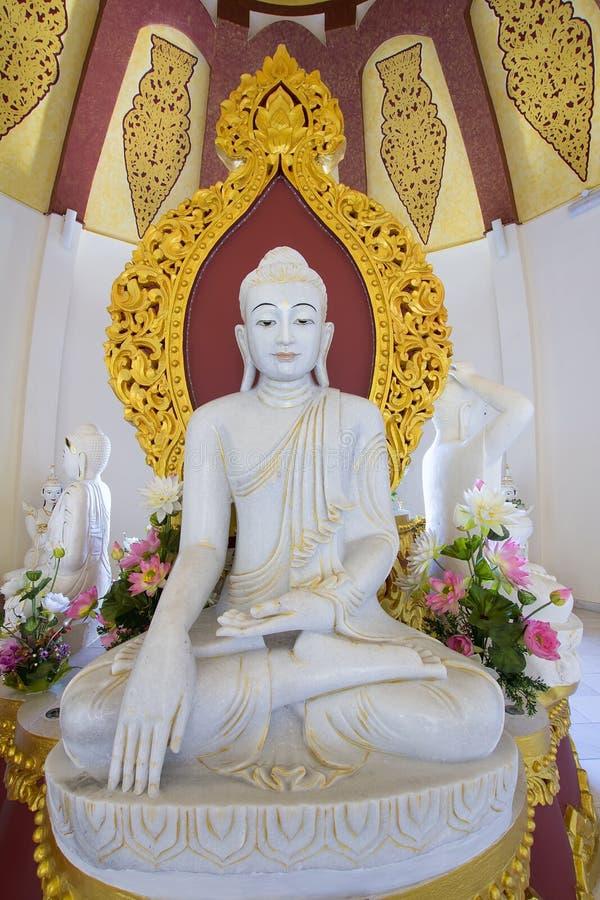 Free Burmese Kakusanda Marble Buddha Statue Royalty Free Stock Photo - 30093965