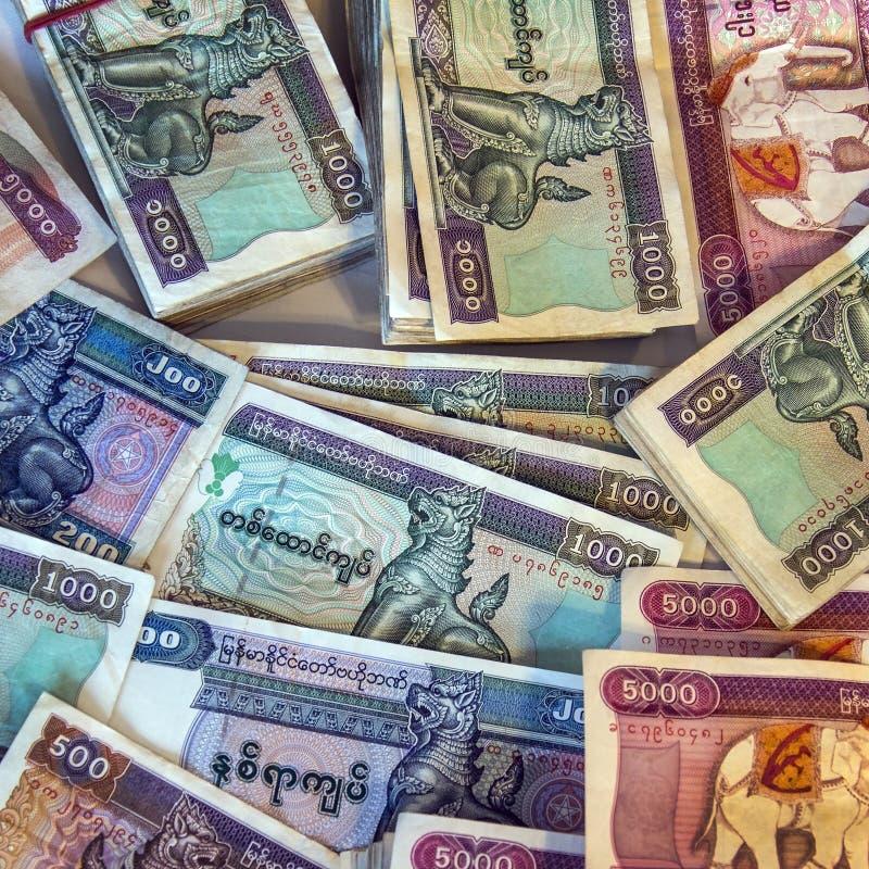 Free Burmese Kyat Banknotes - Myanmar (Burma) Royalty Free Stock Photo - 29843105