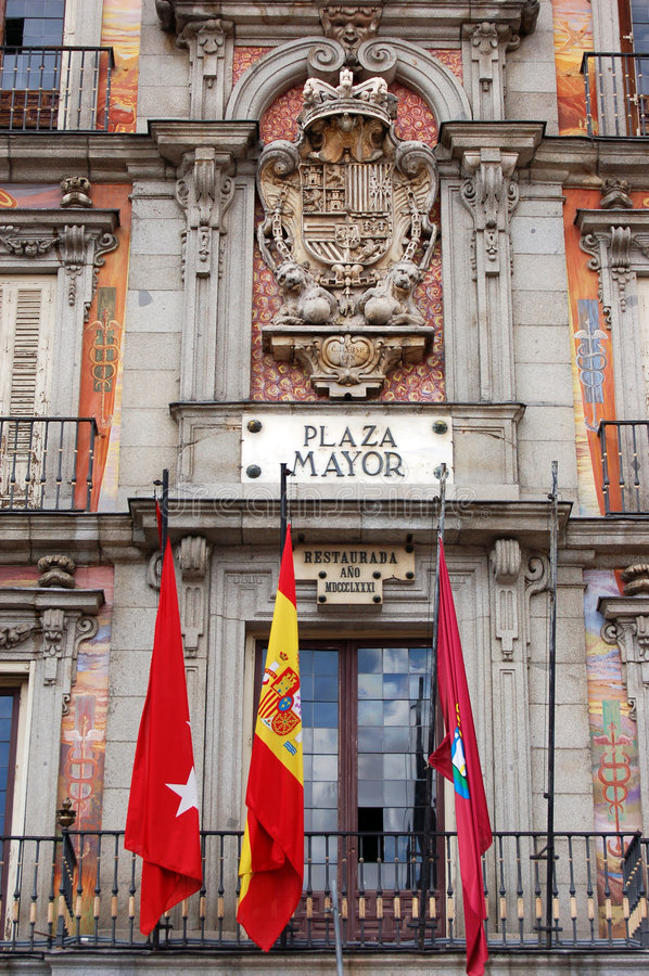 burmistrz plaza obrazy royalty free