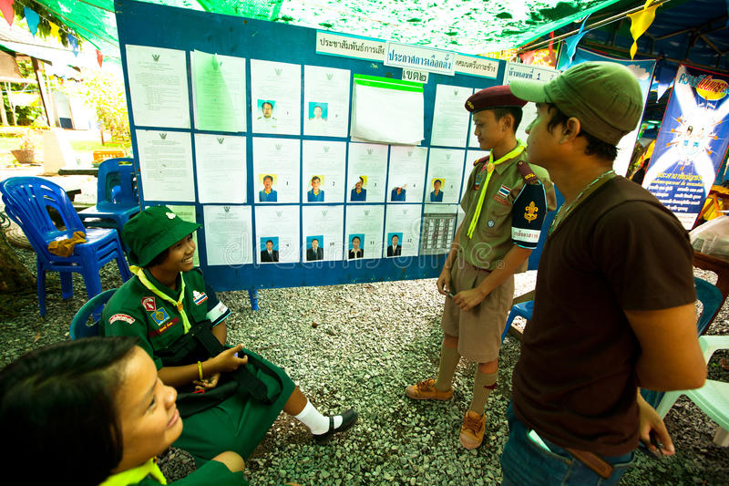 Burmistrzowscy wybory na Koh Chang wyspie obraz stock