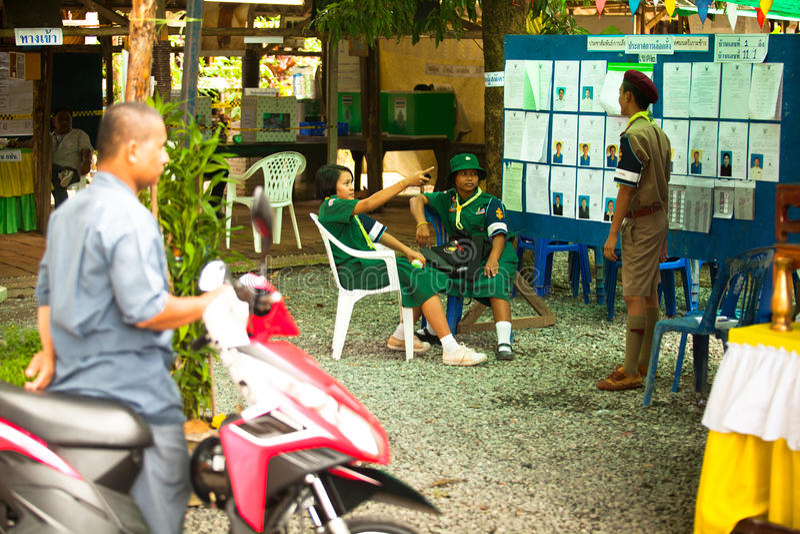 Burmistrzowscy wybory na Koh Chang wyspie zdjęcia stock