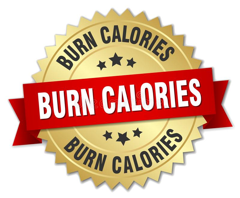 burn calories vector illustration