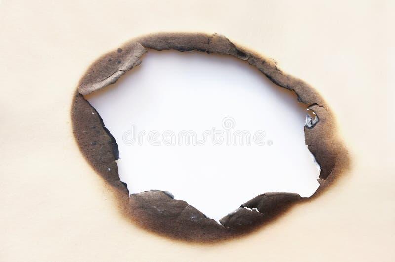 Burn Hole stock photos
