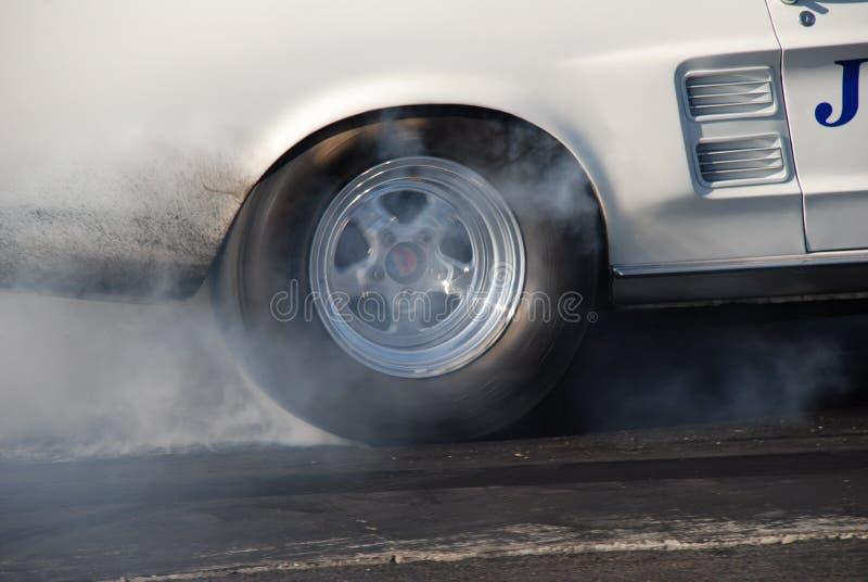 Burn-out lizenzfreies stockfoto